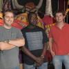 Bertrand Billon, Oumar N'Dioungue et Nicolas Lampérier