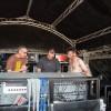 Interview de Johan Maheux (au centre) et Rico (à droite) par Ludo.