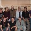 De G à D : Jerome Prévost, Céline Royer, Antony Toraldo, Dimitri Vassiliu, Thierry Grand, Jérémy Bargues. En bas : Kévin Leroy, Sébastien Amador, William Weber.