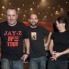 Xavier Gendron, Thibaut Cortès et Vickie Mayne