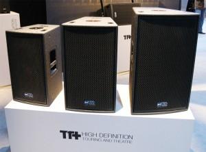 De gauche à droite les nouveaux modèles TT1-A, 2-A et 5-A (136 dB SPL max).