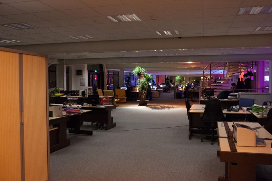 Les bureaux reflets de la marque employeur factory aménagement