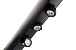 Les bloc optiques (Led RGBW 15 W + collimateur 45 mm Gaggione)
