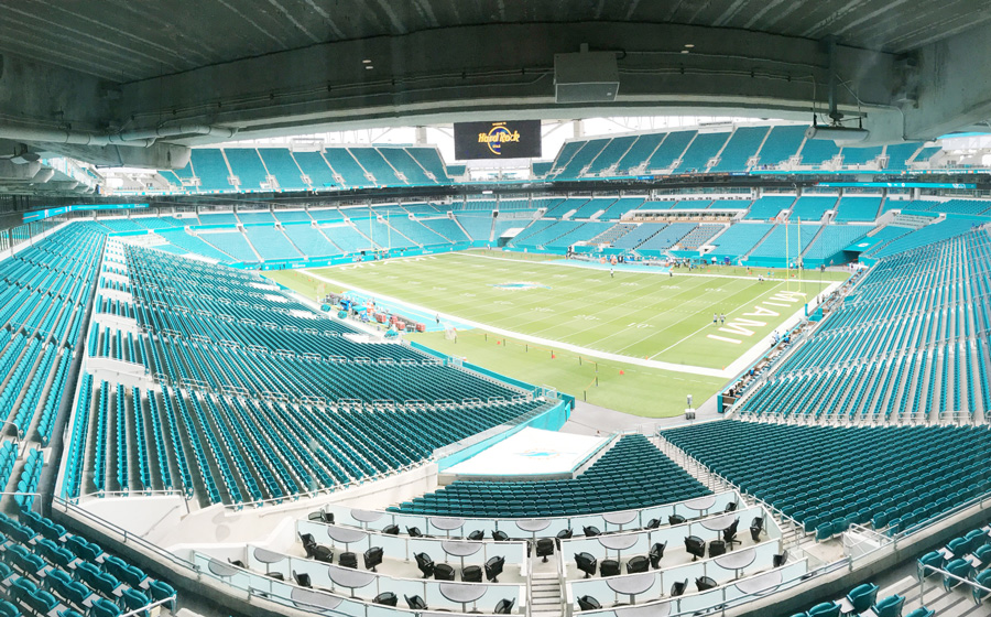 Electro Voice Delivers Sound Systems At Hard Rock Stadium
