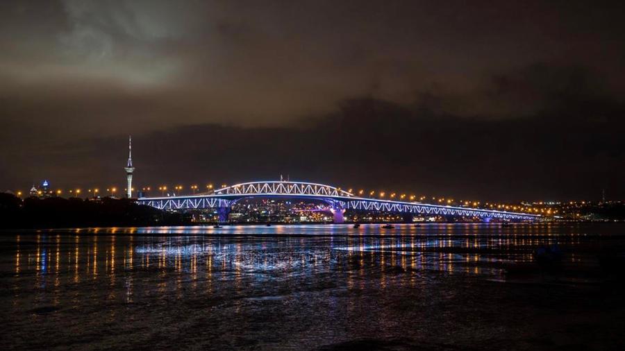 Le pont du port d'Auckland