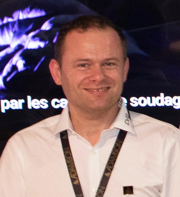 Stéphane Pelletier, ingé son et système de DV2.