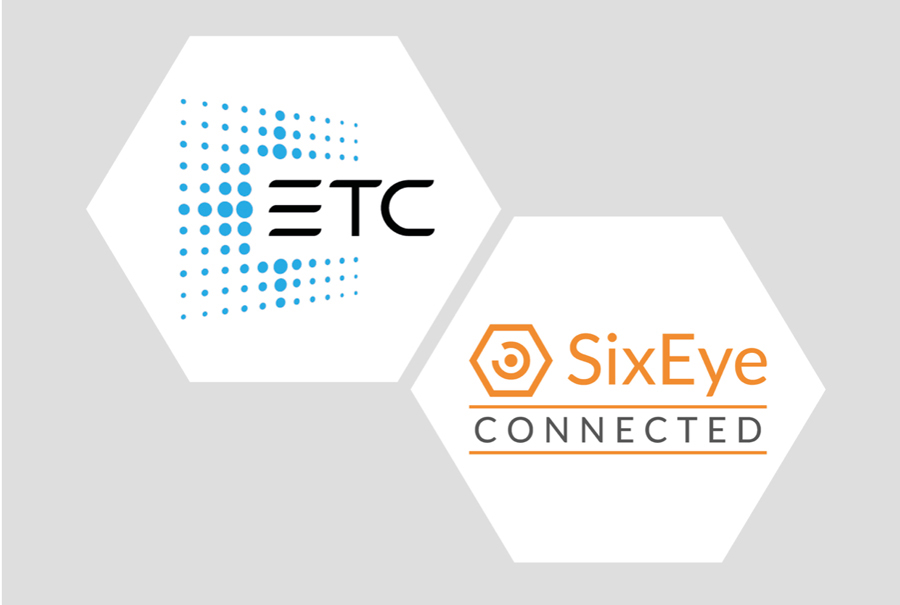 Avec l'accès à distance via SixEye à ses contrôleurs architecturaux Mosaic, ETC devient un fabricant connecté « SixEye Connected »