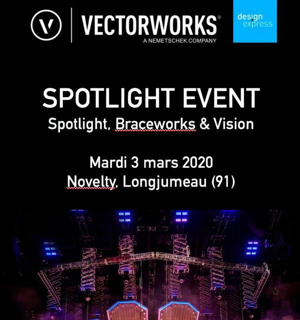 Atelier Vectorworks chez Novelty le 3 mars