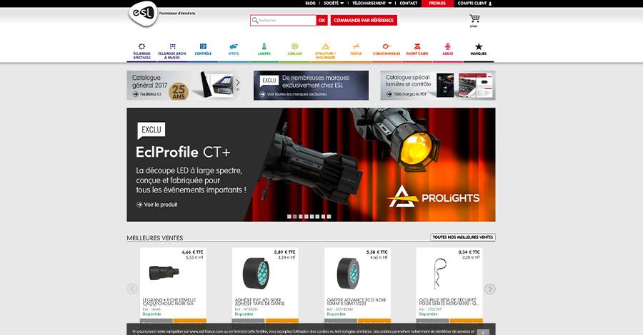 Site web ESL France